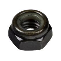 PRIDE M8-1.25X7.65 BLACK LOCK NUT (NUTNYLK1011)