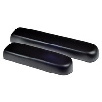 PRIDE FULL LENGTH BLACK VINYL CO-MOLDED ARMREST PAD FOR SCOOTERS