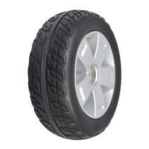 PRIDE FOAM FILLED FRONT WHEEL ASSEMBLY WITH BLACK TIRE FOR THE VICTORY 10 (SC710), VICTORY ES 10 (S104) AND VICTORY SPORT (S710DXW)