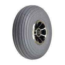 """PRIDE 3.00-4 (10""""X3"""", 260X85) PNEUMATIC FRONT WHEEL ASSEMBLY FOR 3-WHEEL CELEBRITY X (SC4001), LEGEND (SC3000), & VICTORY 10 (SC610)"""