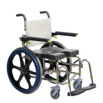 RAZ-SP (SELF PROPEL) MOBILE SHOWER COMMODE CHAIR