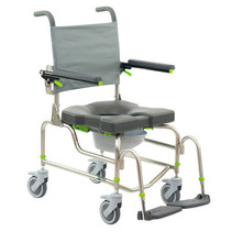 RAZ-AP (ATTENDANT PROPE) MOBILE SHOWER COMMODE CHAIR