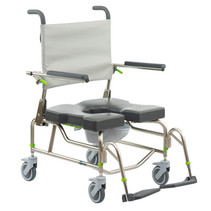 RAZ-AP600 (ATTENDANT PROPE) MOBILE SHOWER COMMODE CHAIR