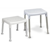 EASY SHOWER STOOL, GREY (INCLUDING SWIVEL PAD)