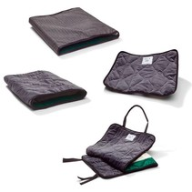ONE WAY GLIDE, PAD, VELOUR 43X37CM 16.9X14.6IN