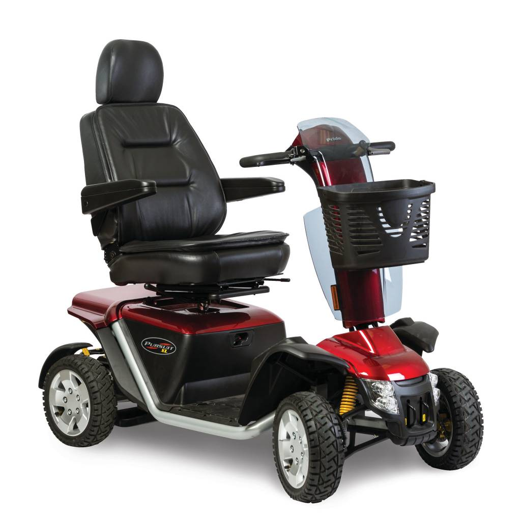 PRIDE MOBILITY 4 WHEEL SCOOTER PRIDE PURSUIT XL