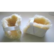 SHEEPSKIN HEEL / ELBOW PADS / PAIR