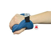 VENTOPEDIC PREMIUM PALM PROTECTOR with CYLINDER ROLL - Left Hand – Large