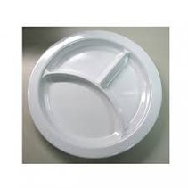NO-SLIP DIVIDED DINNER PLATE