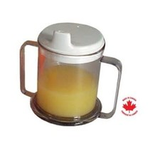PARSONS DOUBLE HANDLE MUG with lid - Pack of 25
