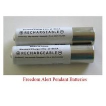 FREEDOM ALERT PENDANT BATTERIES – Pack of 2