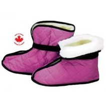 PLUSH LINED BOOTIES - Small/Rose