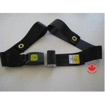 2 PC. AUTO BUCKLE SEAT BELT, 60 in (152 cm)
