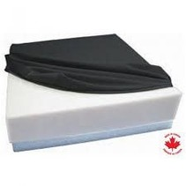 ETHAFOAM BASE CUSHIONS with Polyknit cover - 16x16x4