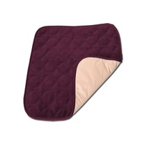 VELEVT CHAIR PROTECTOR PAD - BURGUNDY