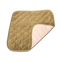 VELEVT CHAIR PROTECTOR PAD - KHAKI