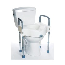 "RAISED TOILET SEAT WITH LEGS  18"" x 21"""
