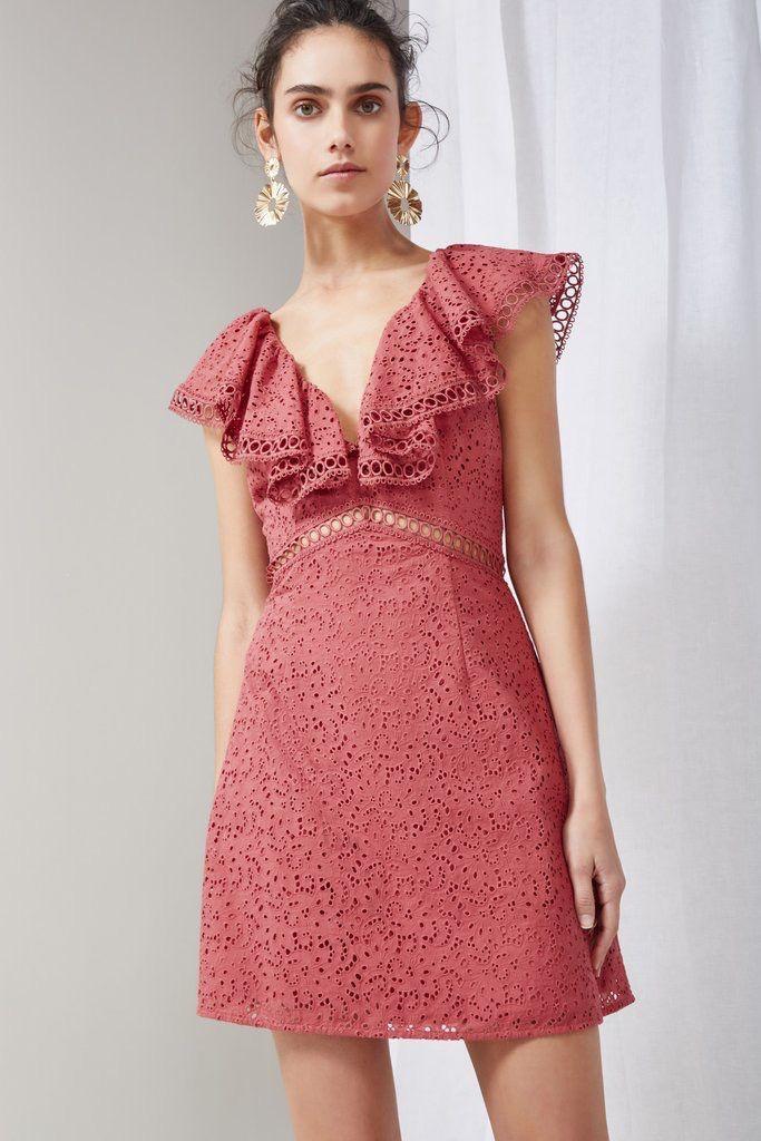 KEEPSAKE Unravelled Mini Dress
