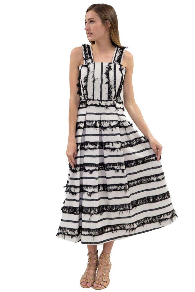 Hunter Bell Kendall Fringe Dress