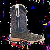 Fenoglio Boot Co. Grey Safari Elephant w/ Blue Bios