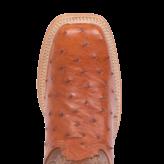 Fenoglio Boot Co. PB Full Quill Ostrich w/ Cognac Bios