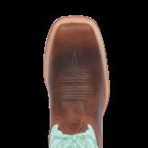 Fenoglio Boot Co. Fuji Tan w/ Tiffany Blue