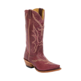 Fenoglio Boot Co. Burgundy Full Hide w/ Burgundy Full Hide