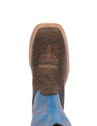 Fenoglio Boot Co. Desert Snake Bison w/ Sky Blue