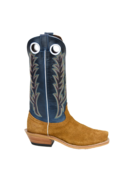 Fenoglio Boot Co. Red Brown Roughout w/ Blue Bios