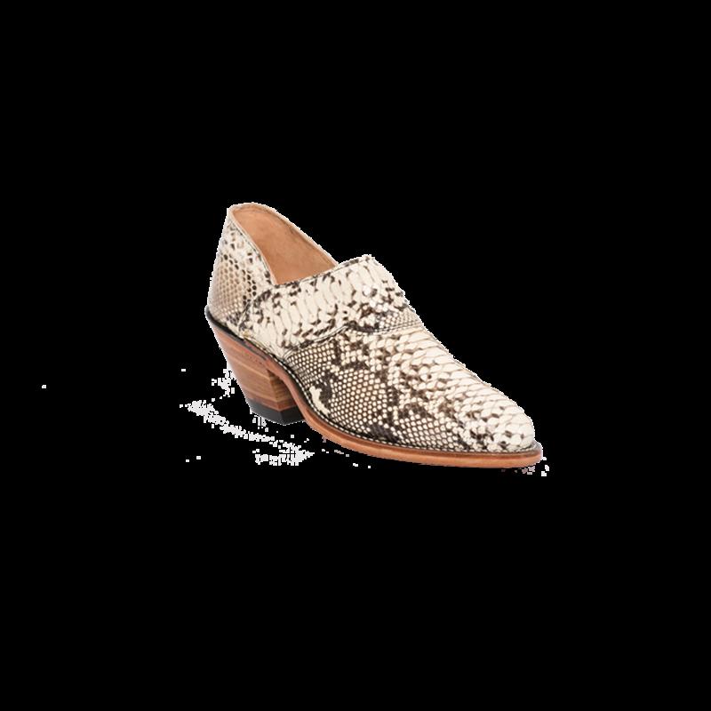 Natural Python Shoe-Boot