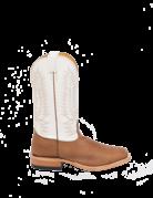 Fenoglio Boot Co. Torino Gold w/ White Glazed Kid