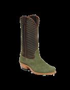 Fenoglio Boot Co. Olive Roughout w/ Whiskey