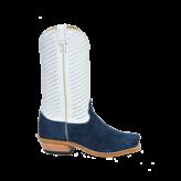 Fenoglio Boot Co. Navy Roughout w/ Cream