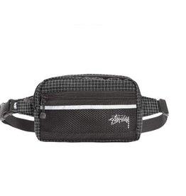Stussy Stussy Ripstop Nylon Waist Bag Black