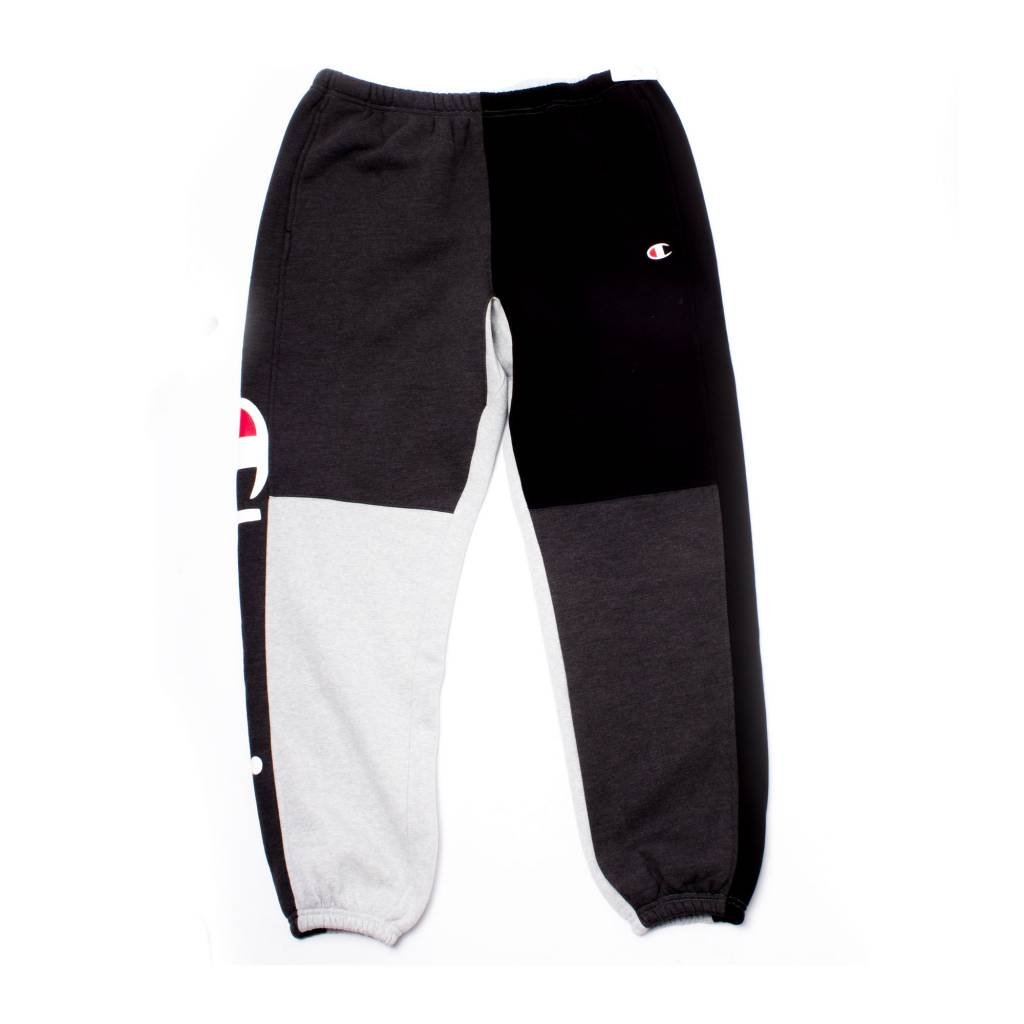 e3f6a665e987 Champion Champion Color Block Sweats grey/black ...