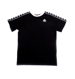 kappa Kappa Authentic Autin Tape Tee Black/White