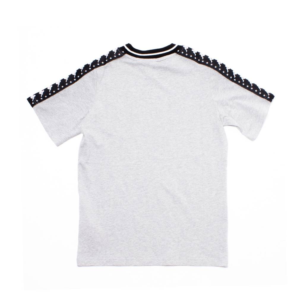 kappa Kappa Authentic Anchen Tape Tee Grey/Black
