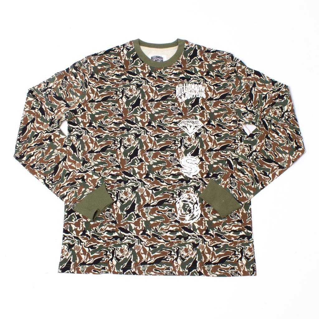 BBC BBC Camo Space MX LS Knit Overcast