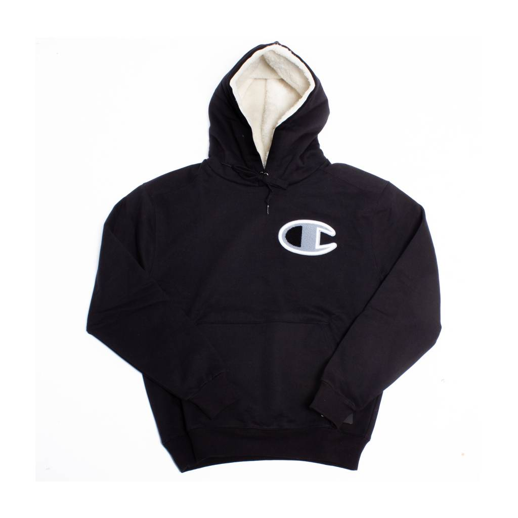 Champion Champion Hoody with sherpa Black