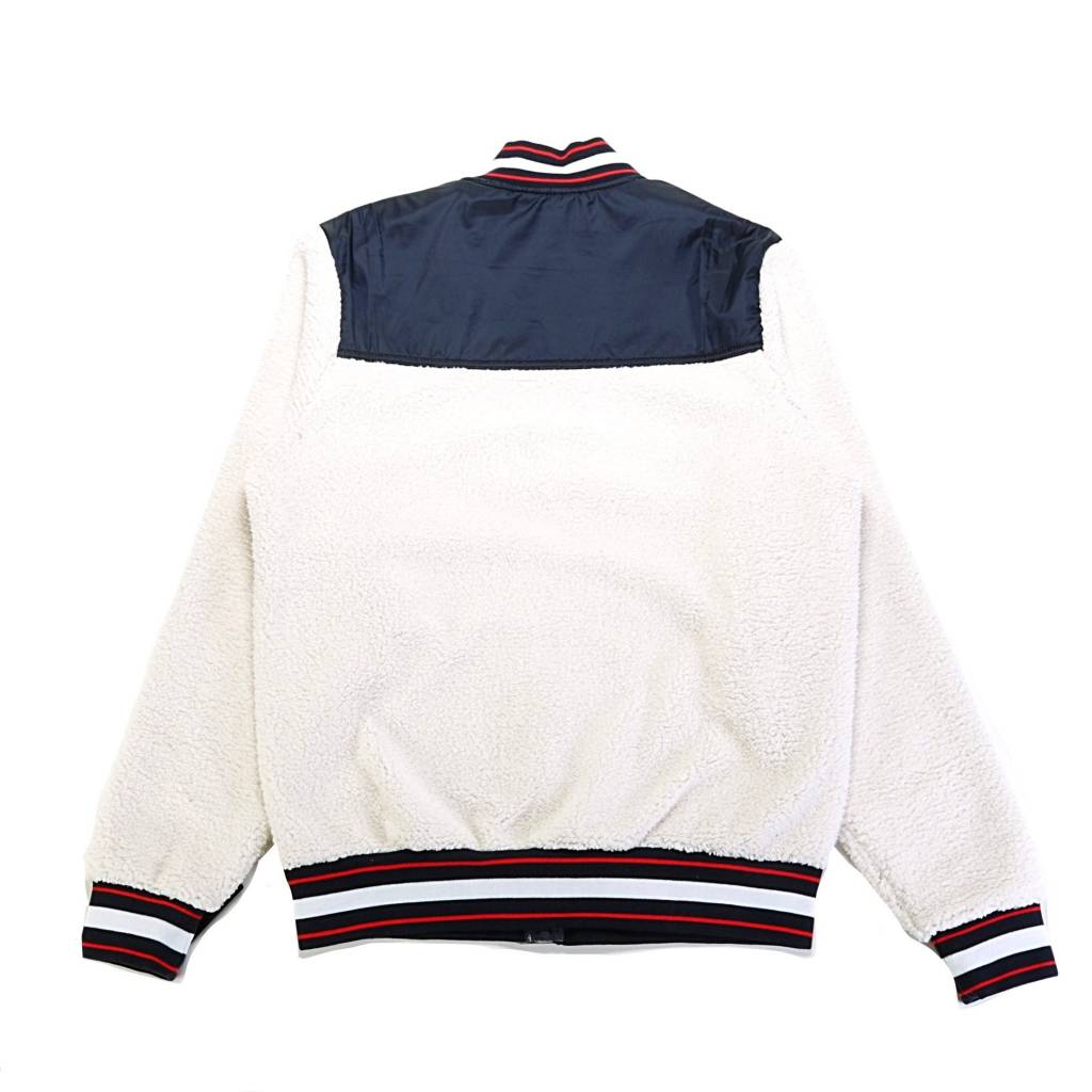 Champion Champion Sherpa Baseball jacket Cream