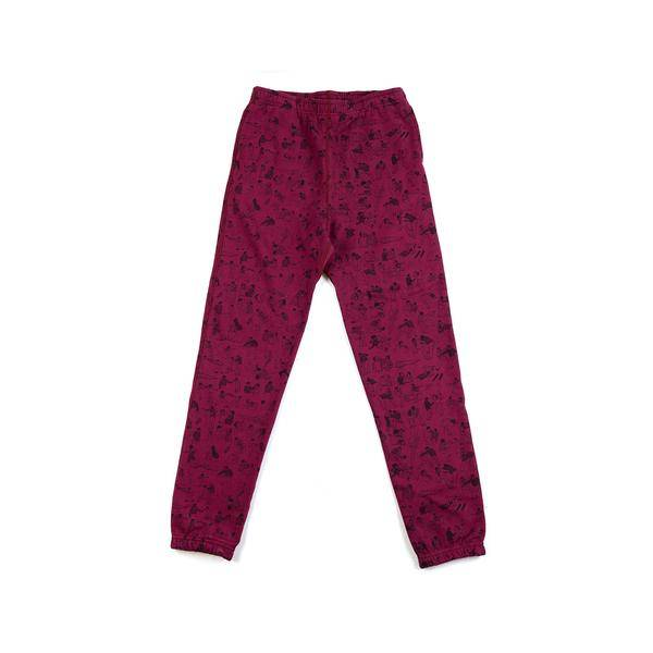 Raised by Wolves Riot Joggers Burgandy