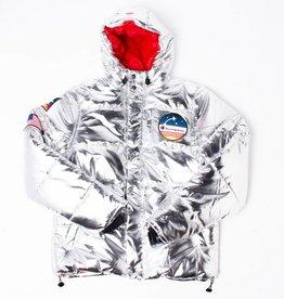 Champion Champion Metallic Puffer jacket Silver
