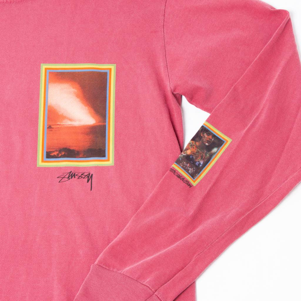 Stussy Stussy Inferno Long Sleeve Rasberry