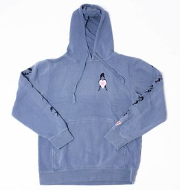 Psychic Hearts Psychic Hearts Fade Away Pullover Blue