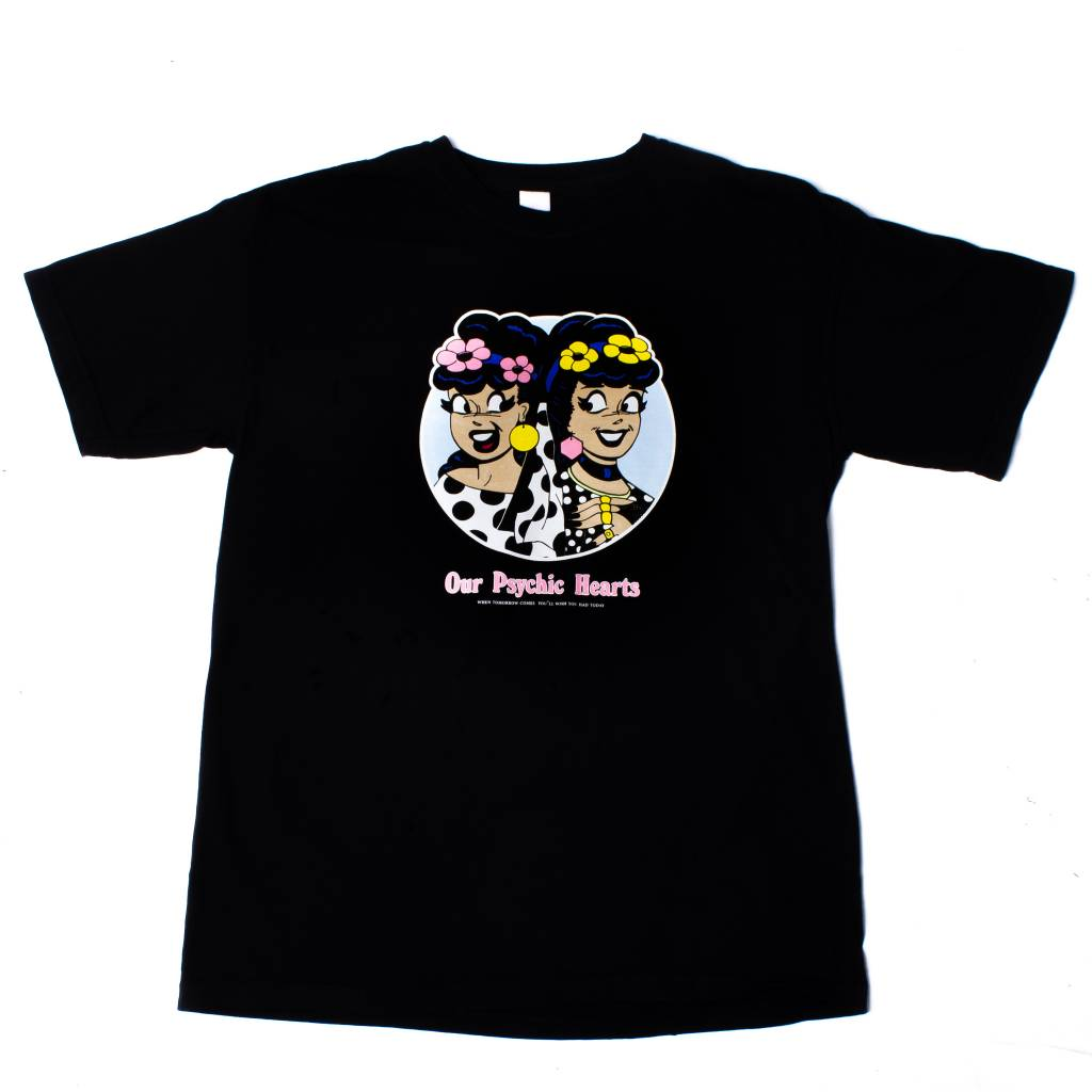 Psychic Hearts Psychic Hearts Strawberry and Veronica Tee Black