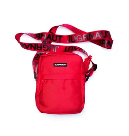 Jugrnaut Jugrnaut Side Satchel Red/Black (6 x 2 x 7.75 inches)