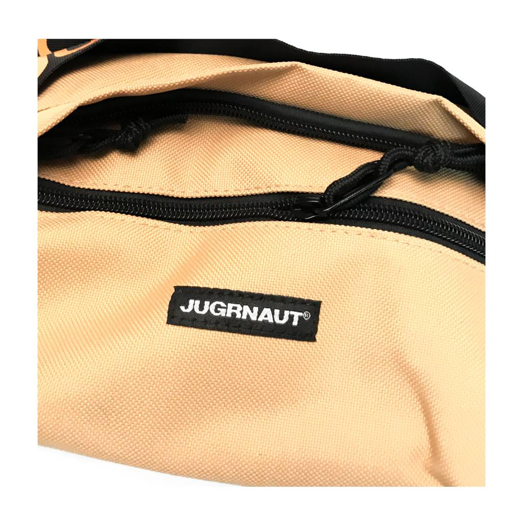 Jugrnaut Jugrnaut Fanny/Utility Bag Tan/Orange (11.5 x 4 x 5.25 inches)