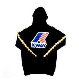 kappa Kappa x Kway Bob Pullover Hoody Black