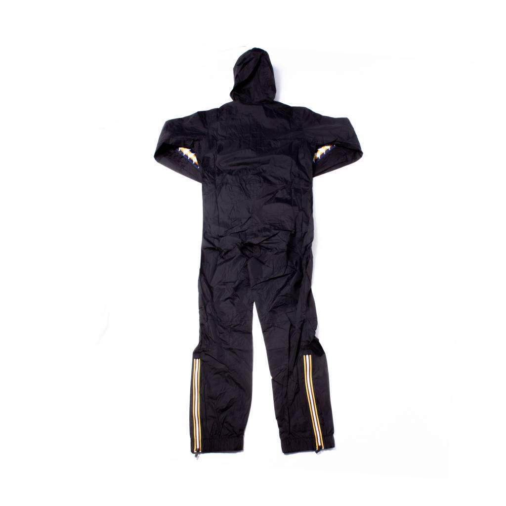 kappa Kappa x Kway Pierrik Water Proof Jumpsuit Black