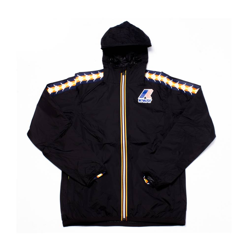kappa Kappa x Kway Claude Water Proof Zip Black